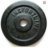 Insportline ocelové závaží 20 kg +DÁREK dle VÝBĚRU!!!