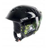 Uvex X-RIDE Junior Motion černo-zelená 11/12