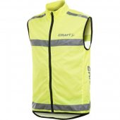 CRAFT Safety Vest žlutá 192480-1850 +DÁREK dle VÝBĚRU!