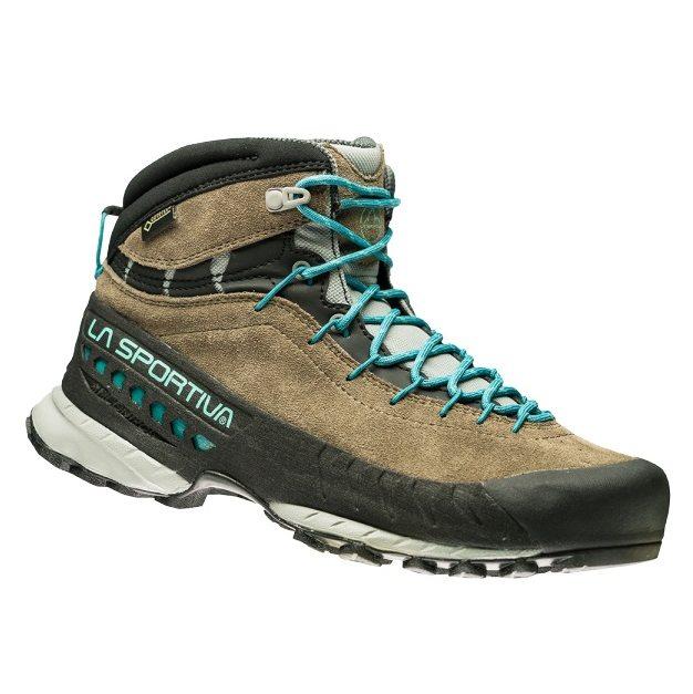 Dámská kožená kotníková obuv od firmy La Sportiva navržená pro dokonalou  oporu a stabilitu během náročných výstupů v horách 6d202fdf8f